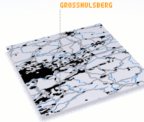 3d view of Großhülsberg