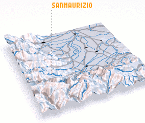 3d view of San Maurizio