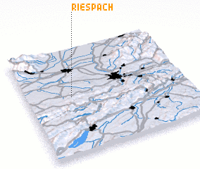 3d view of Riespach