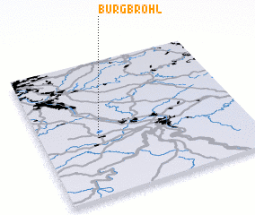 3d view of Burgbrohl