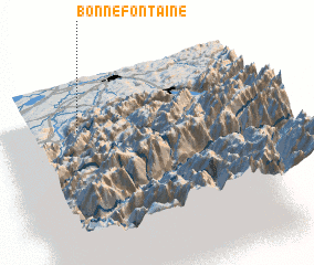 3d view of Bonnefontaine