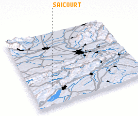 3d view of Saicourt