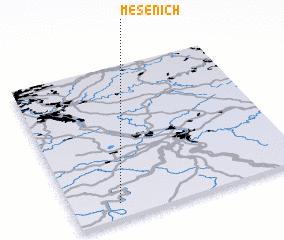 3d view of Mesenich