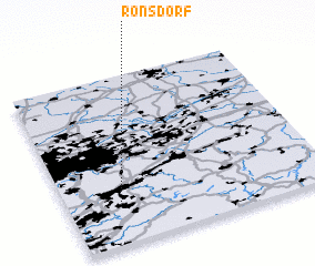 3d view of Ronsdorf