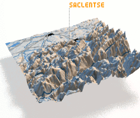 3d view of Saclentse