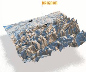 3d view of Brignon