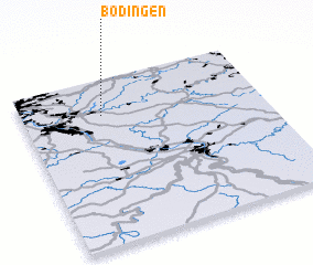3d view of Bödingen