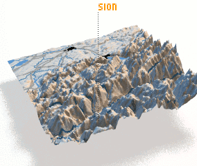 3d view of Sion