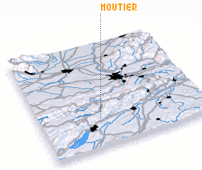 3d view of Moutier