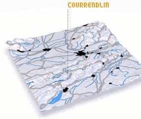 3d view of Courrendlin