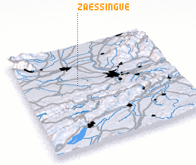 3d view of Zaessingue