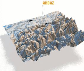 3d view of Arbaz