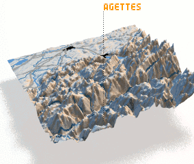 3d view of Agettes
