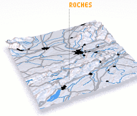 3d view of Roches