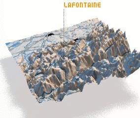 3d view of La Fontaine