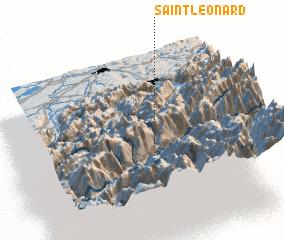 3d view of Saint-Léonard