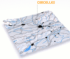 3d view of Corcelles
