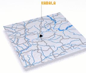 Kabala Nigeria map nonanet