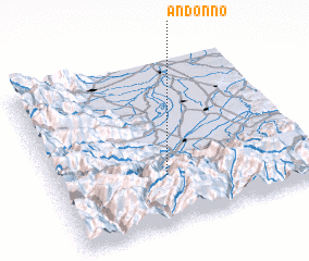 3d view of Andonno
