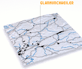 3d view of Glan-Münchweiler