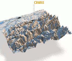 3d view of Crans