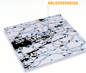 3d view of Haldenerheide