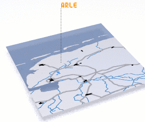 3d view of Arle