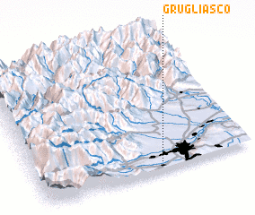 3d view of Grugliasco