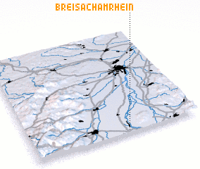 Breisach Germany Map.Breisach Am Rhein Germany Map Nona Net