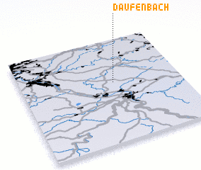 3d view of Daufenbach