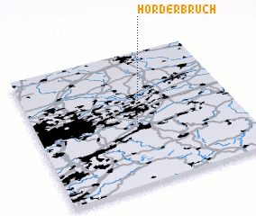 3d view of Hörder Bruch