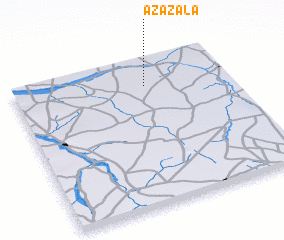 3d view of Azazala
