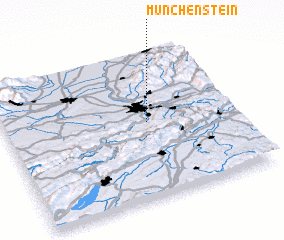 3d view of Münchenstein