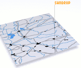3d view of Sandrup