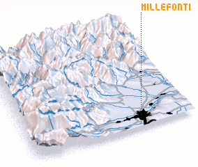3d view of Millefonti