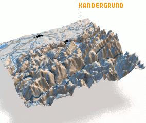 3d view of Kandergrund
