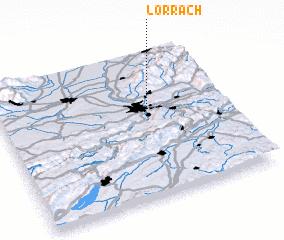 3d view of Lörrach