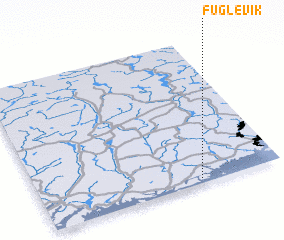 3d view of Fuglevik