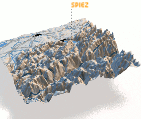 3d view of Spiez