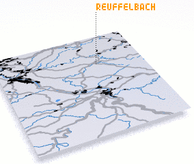 3d view of Reuffelbach