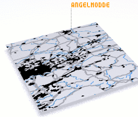 3d view of Angelmodde