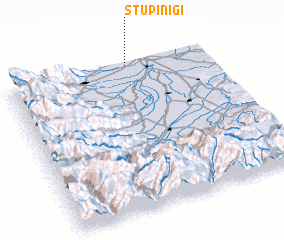 3d view of Stupinigi