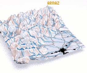 3d view of Arnaz