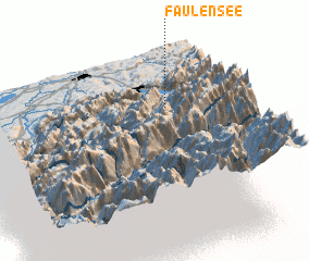 3d view of Faulensee