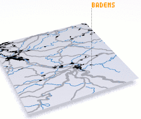 3d view of Bad Ems