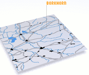 3d view of Borkhorn