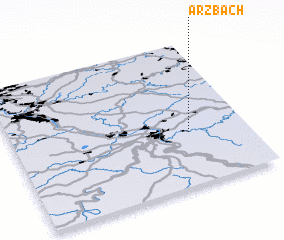 3d view of Arzbach