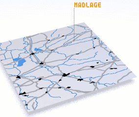 3d view of Madlage