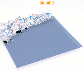 3d view of Gavano