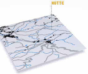 3d view of Hütte